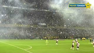 Recibimiento Boca - River /Copa Libertadores 2015/