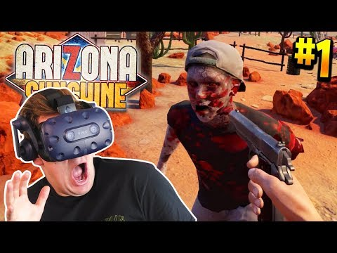 I WAS IN A ZOMBIE APOCALYPSE WITH JOE SUGG IN VR - Part 1