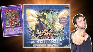 EPIC YuGiOh Ancient Prophecy 1st Edition Box Opening! | Search for Armityle the Phantom of CHAOS