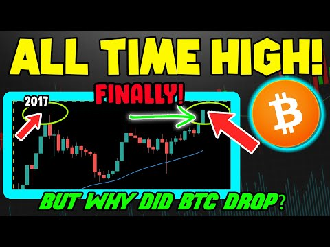 BITCOIN MAKES HISTORY AS BTC PRICE BREAKS ALL TIME HIGH! WHAT HAPPENS NEXT?