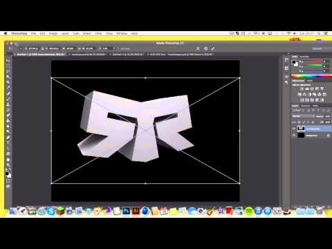 How To Make A Sick Logo For A Clan On Photoshop ! | (Beginners Tutorial)