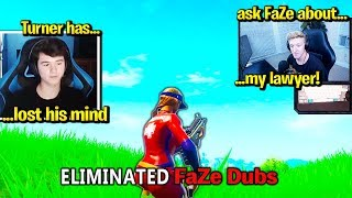 TFUE *THREATENS* BUGHA & FaZe DUBS for THIS! (Fortnite)