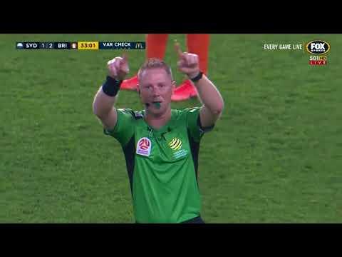 Sydney FC VS Brisbane Roar Round 23 2017/18