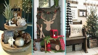 ❤ Diy Shabby Chic Style Rustic Christmas Decor Ideas ❤| Home Decor & Interior Design|flamingo Mango|