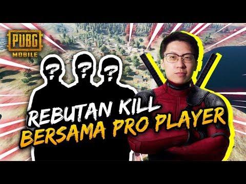 REBUTAN KILL SAMA PRO PLAYER! - PUBG Mobile Indonesia
