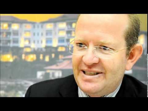 Julian Katz, Director of Sales and Marketing for Fairmont Zimbali Resort @ Indaba 2011