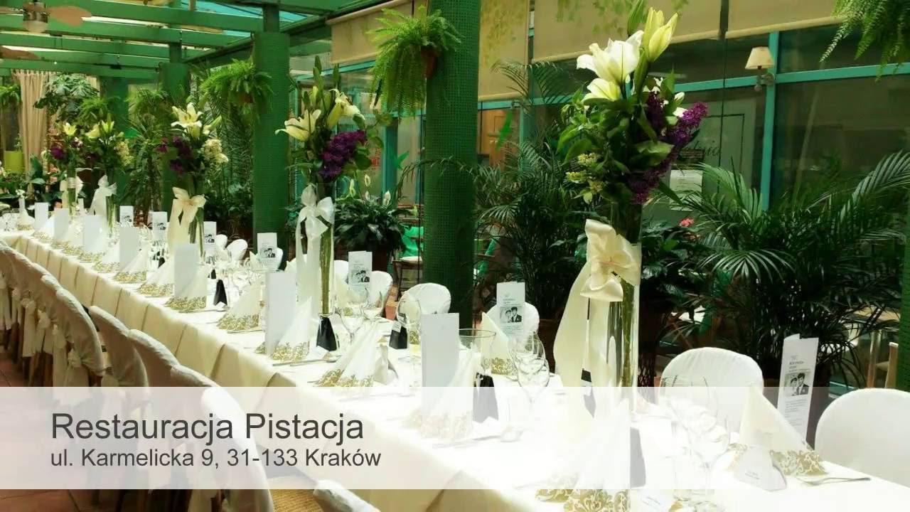 Restauracja Pistacja Wesele Kraków Poleca Gdzieweselepl Youtube