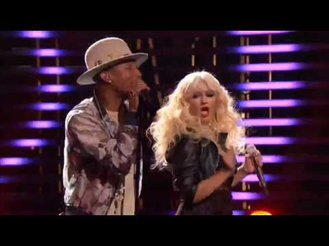 Christina Aguilera , Pharrell Williams , Blake Shelton & Adam Levine - Are You Gonna Go My Way