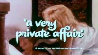 """A Very Private Affair"" trailer"
