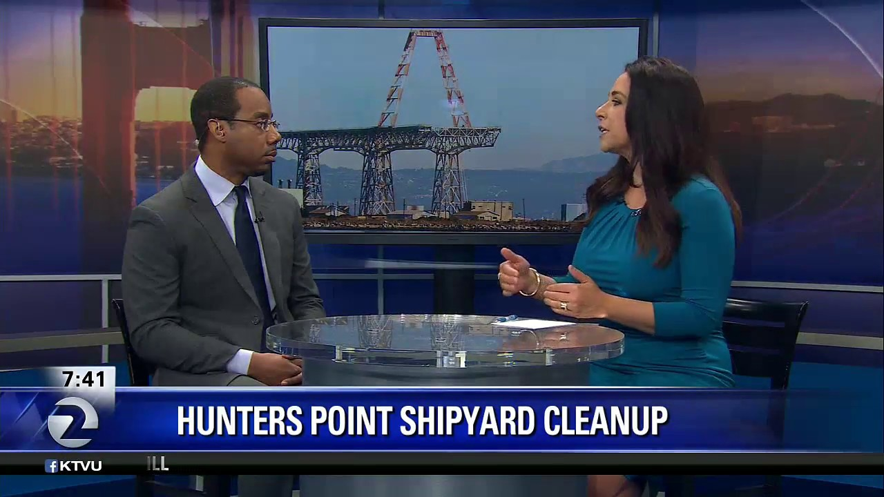 Tetra Tech Hunters Point Naval Shipyard Discussion with Preston Hopson