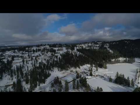 Drone footage over N. Idaho