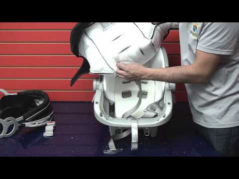 Graco SnugRide 30: Cleaning Car Seat Part 1