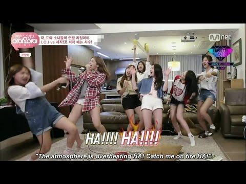 아이오아이 I.O.I FMV - Crazy Noraebang Party (funny clips)