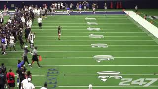 Alabama QB commit Taulia Tagovailoa wins long toss competition at The Opening Finals