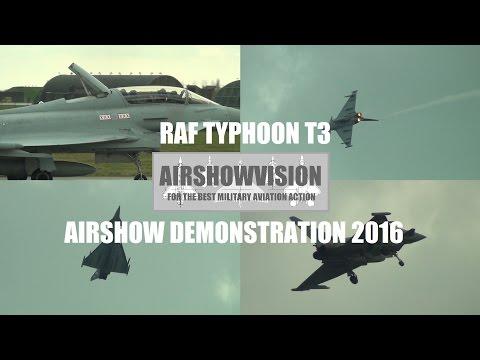 RAF TYPHOON DEMO 2016 (airshowvision)