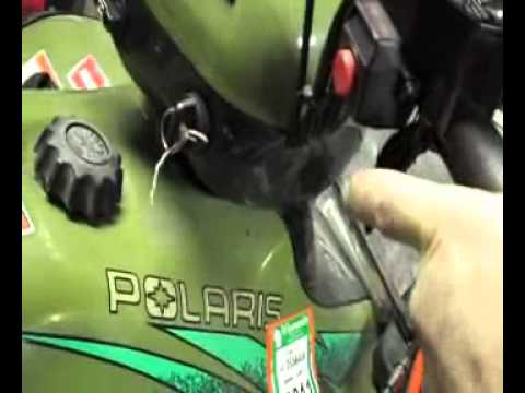 1996 Polaris Sportsman 500 runs bad Fixed - Thankswmv - YouTube