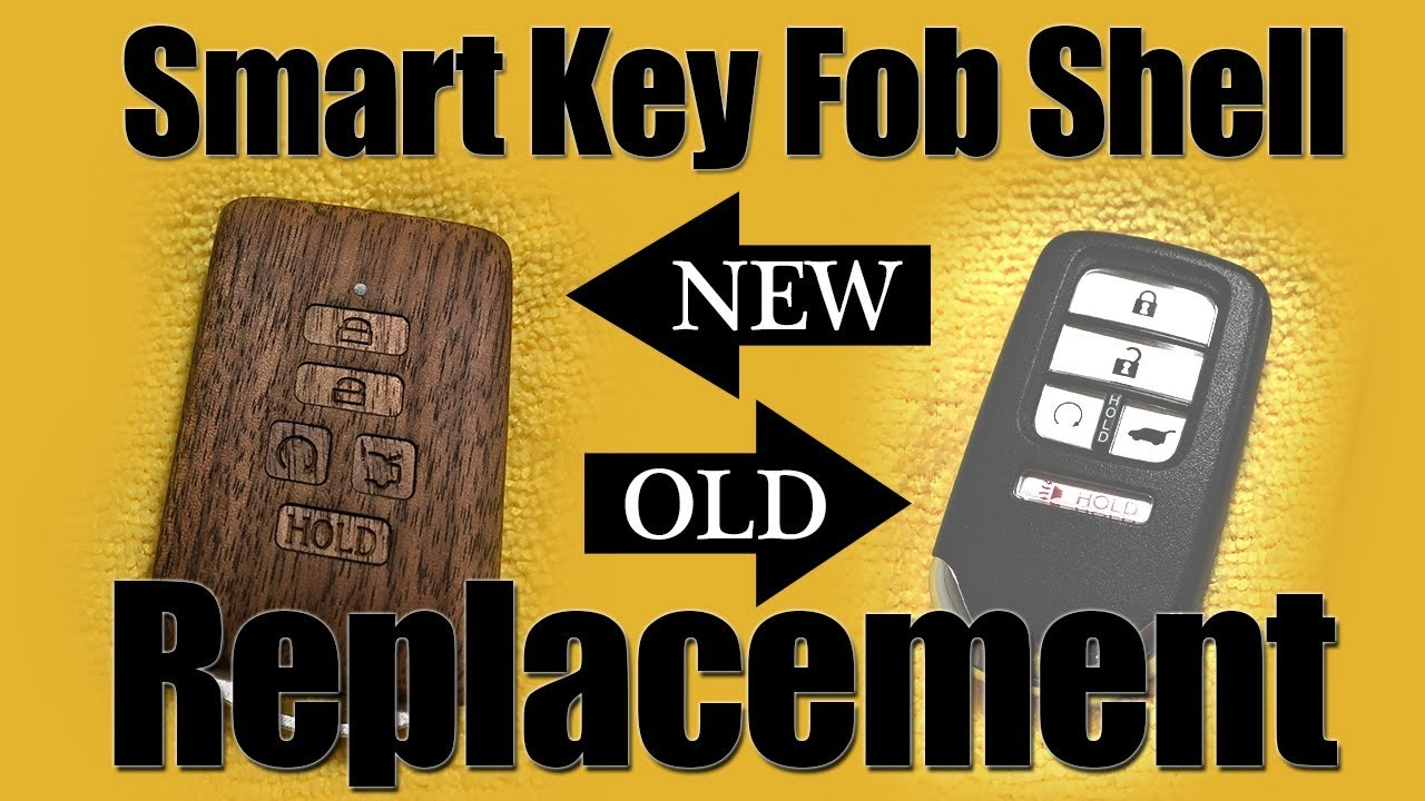 ONLY Smart Keys  Car Key Fob Shell Replacement  Toyota//BMW//Honda//Audi//Mercedes-Benz