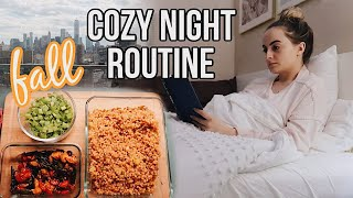 Cozy Fall Night Routine | Work Edition