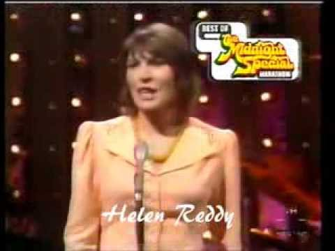 HELEN REDDY - I AM WOMAN - HOSTING THE FIRST MIDNIGHT SPECIAL - ED MCMAHON