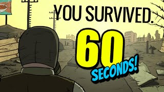 60 Seconds - Ep. 15 - RESCUE! FINALLY! - Let's Play 60 Seconds! (60 Seconds! Gameplay)