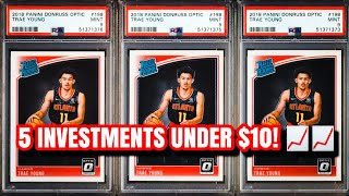 5 Best Sports Card Investments under $10 that can be $100+!