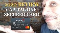 2020 Capital One Secured Card Review//Delta Credit Tip