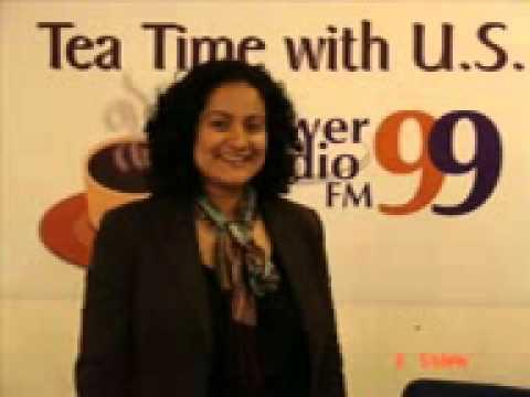 Tea Time With Aroosha Rana @ Power99 FM Radio Islamabad