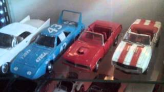 Display Case With Die-cast Cars