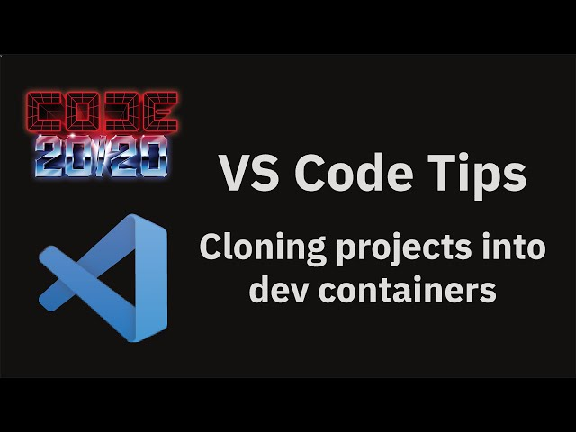 Cloning projects into dev containers