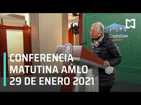 Conferencia matutina AMLO / 29 de enero 2021