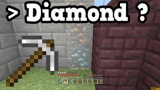 Why Iron Is Sometimes Better Than Diamond (Minecraft Xbox / PE)