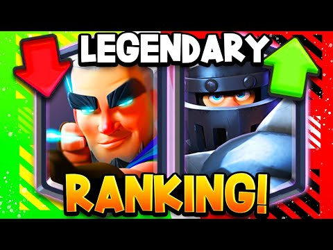 Ranking All 17 Legendary Cards (BIG CHANGES In 2020!)