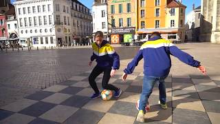 FRÈRE & SŒUR: Le duo Freestyle Football