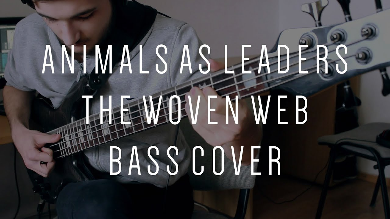 Animals As Leaders The Woven Web Bass Cover Spector Rebop 5 Dlx Darkglass B3k Youtube