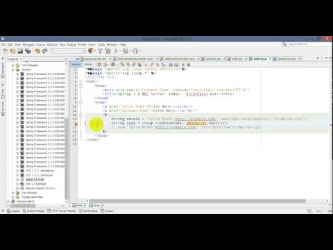 Java JSoup JSP