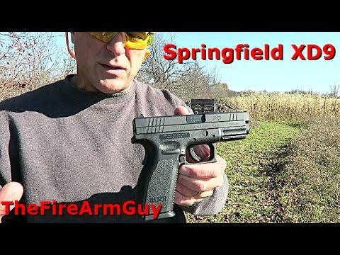 Springfield XD9 Range Review - TheFireArmGuy