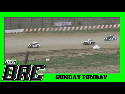 Brushcreek Motorsports Complex | 4/22/18 | Sunday Funday | Ohio Valley Roofers Legends Car Series