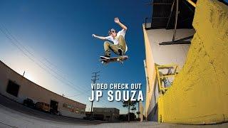 JP Souza Video Check Out - TransWorld SKATEboarding