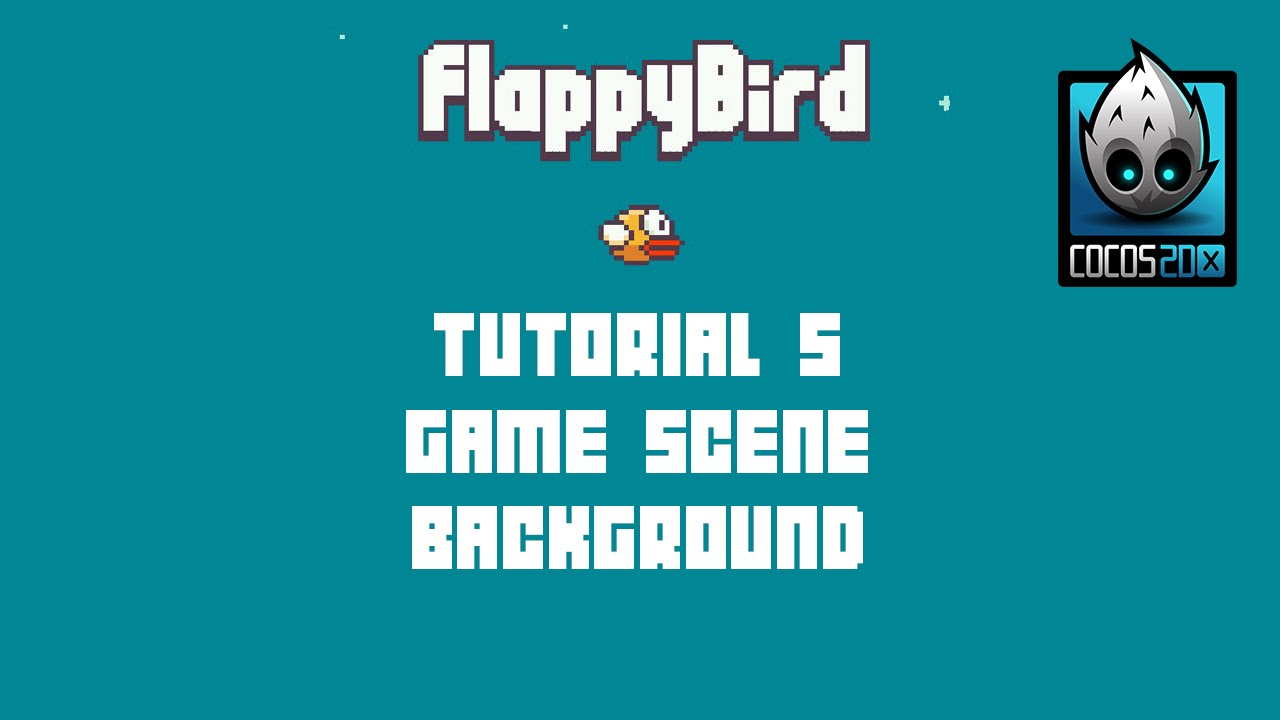 Cocos2d x background image - Cocos2d X Flappy Bird C Tutorial 5 Game Scene Background