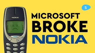 How Microsoft Ruined Nokia's phone business