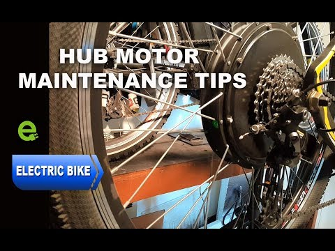 E-Bike. Important, Rear Hub Motor Maintenance Tips
