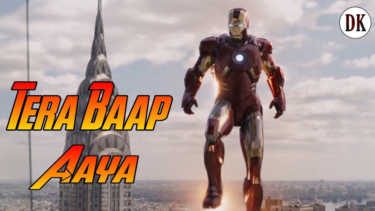 Download Tera Baap Aaya   Iron Man   Avengers