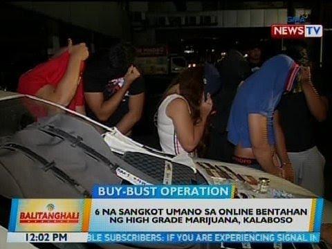 BT: 6 na sangkot umano sa online bentahan ng high grade marijuana, kalaboso sa Mandaluyong
