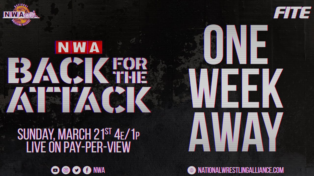 A Special Message About the Main Event of Back for the Attack