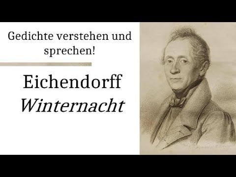Eichendorff, Joseph von: Winternacht (Gedichte-Karaoke 28) Rezitation/Analyseиз YouTube · Длительность: 4 мин13 с