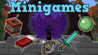 VINDER 5 FORSKELLIGE MINIGAMES I EN VIDEO!?