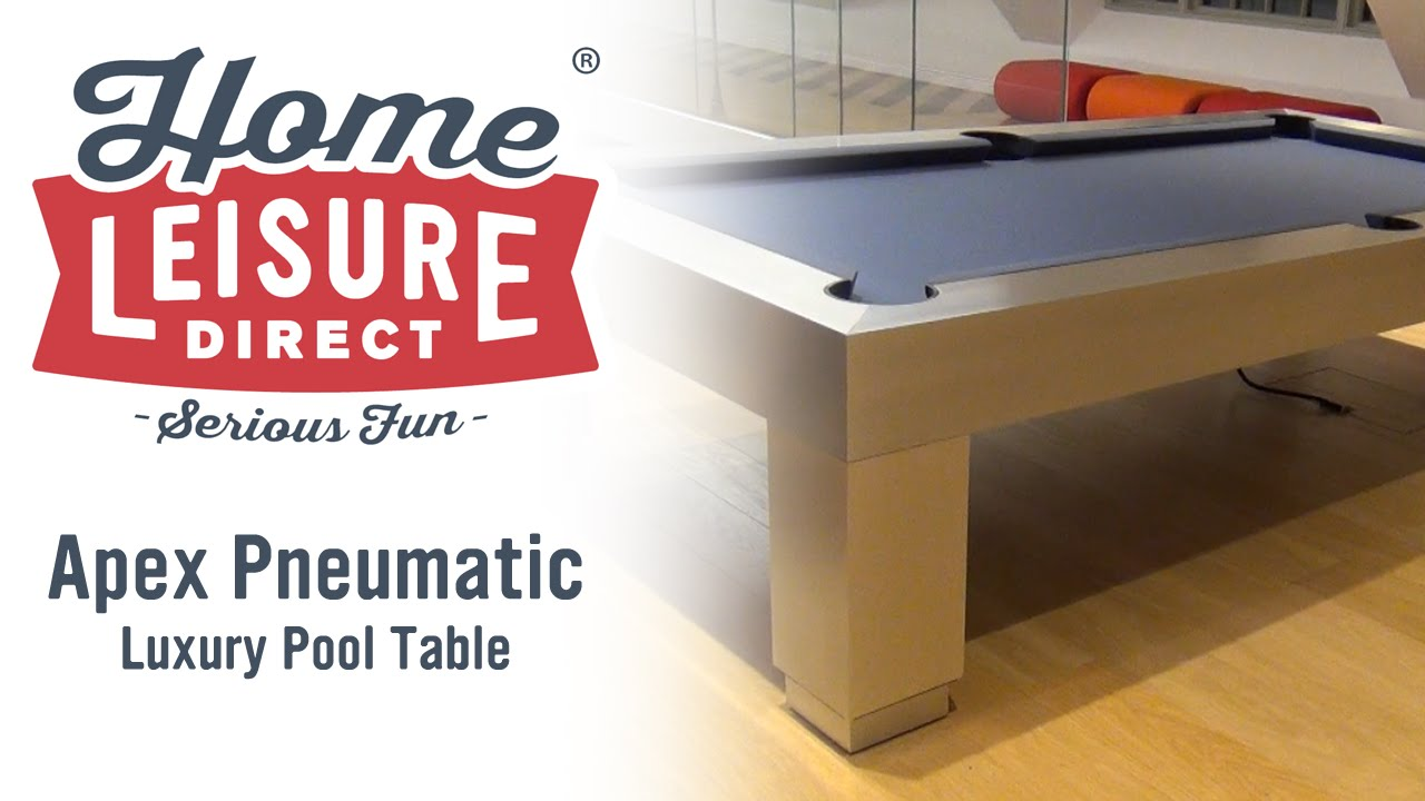 designer billiards apex pneumatic pool table