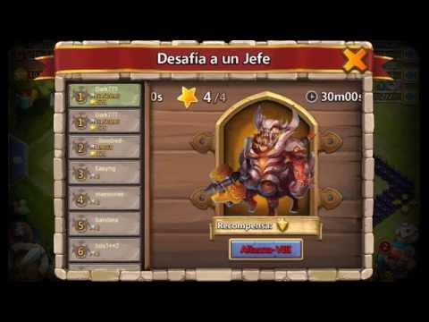 CastleClash New Update | Castillo Furioso Actualizion Julio 2105 New hero, New Boss, etc.