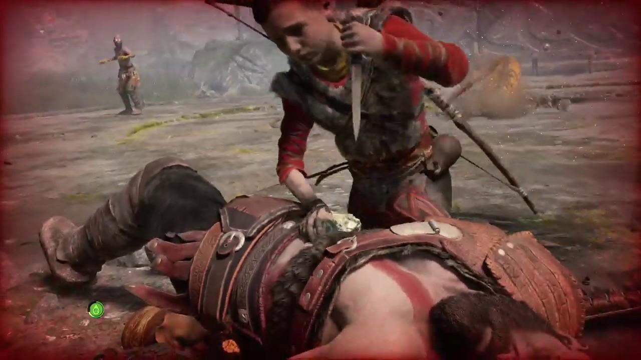 God Of War (Very Hard) - 4# Kratos pega o piá no flagra fazendo viadagem  com o anão pedofilo