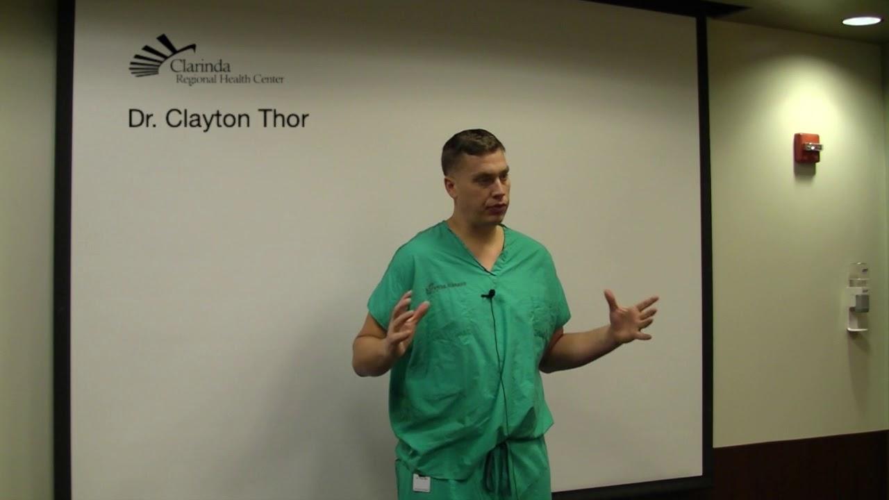 Clayton C  Thor, MD | Clarinda Regional Health Center